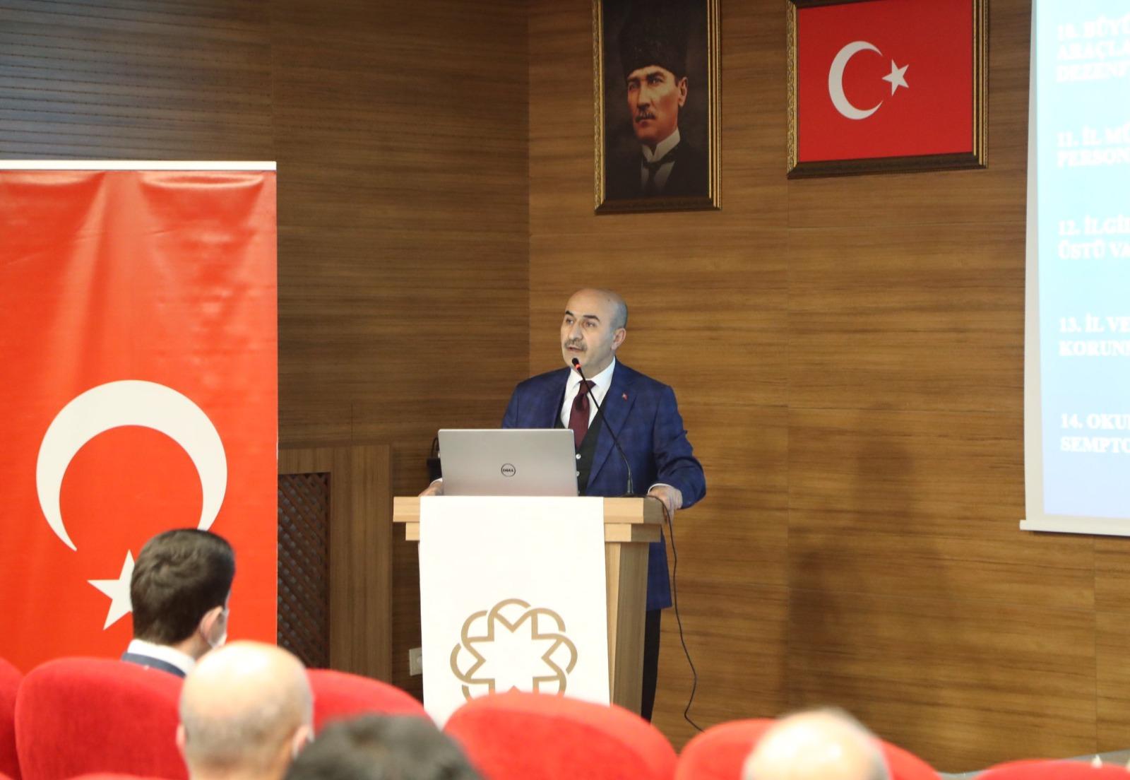 """Mardin'de """"Dinamik Denetim Süreci' toplantısı yapıldı"""
