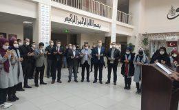 """Mardin'deki Proje Okulda """"Beytülmakdis Köşesi"""" oluşturuldu"""