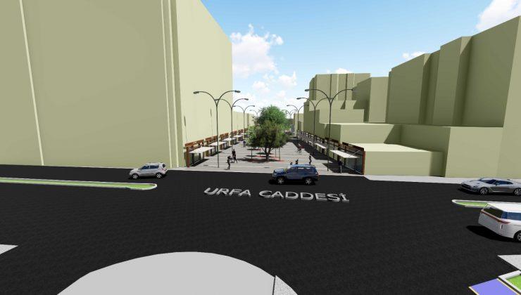 Kızıltepe Cumhuriyet Meydanı yenileniyor