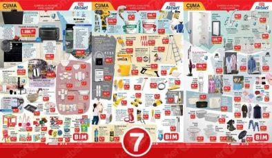 BİM 19 Mart Aktüel Kataloğu: BİM indirimli ürünlerin tam listesi!