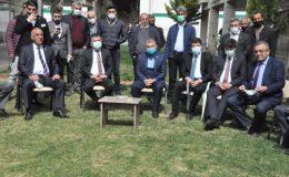 CHP Esnaf Masası Heyeti, Kızıltepe'de esnafla buluştu