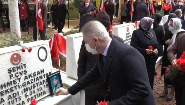 Gaziantep'te 18 Mart Çanakkale Zaferi töreni