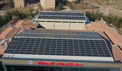 Güneydoğu Anadolu'da ilk defa bir okul kendi elektriğini üretiyor