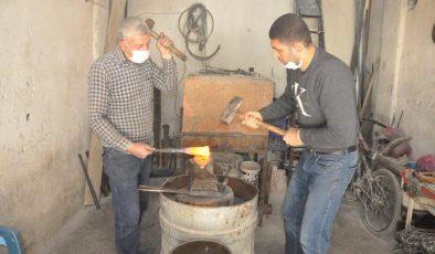 Kızıltepe'de kayıp olmaya yüz tutmuşu mesleği 4 kuşaktır sürdürüyorlar
