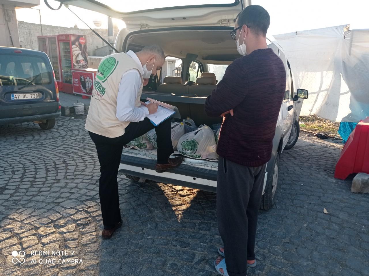 Mardin'de İki Ayda İhtiyaç Sahiplerine 112 Bin Lira Yardım Yapıldı