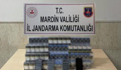 Mardin'de kaçakçılık operasyondu