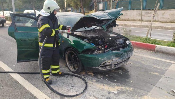 Siirt'te dehşet anları: Kazaya karışan araçlardan biri alev aldı