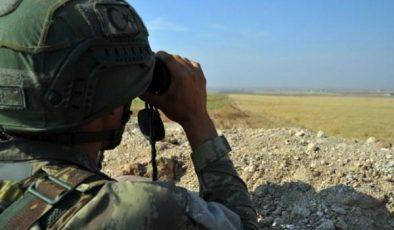 Suriye'den Türkiye'ye girmeye çalışan 2 kişi yakalandı