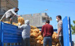Kızıltepe'de İhtiyaç Sahiplerine Patates ve Soğan Yardımı Başladı