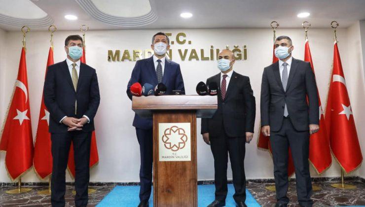Milli Eğitim Bakanı Ziya Selçuk Mardin'de açılış ve temaslarda bulundu