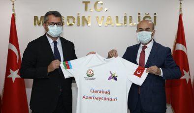 Azerbaycan Cumhuriyeti Ankara Büyükelçisi'nden Vali Demirtaş'a Ziyaret