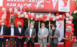 Mardin'de kan bağış merkezinin açılışı yapıldı