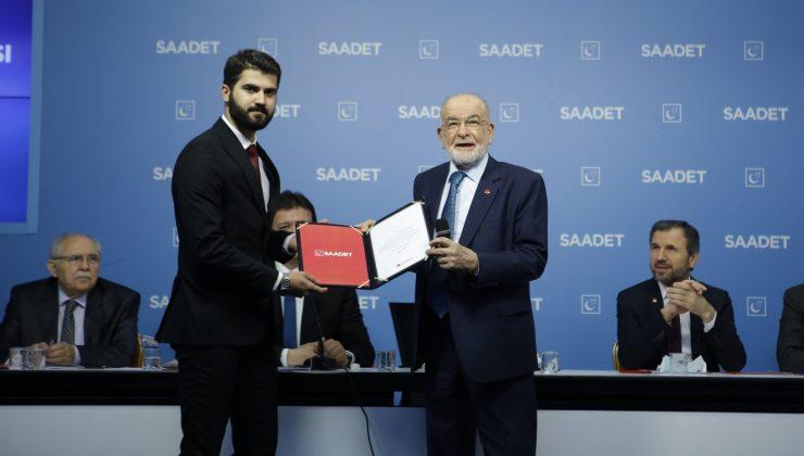 SP Mardin İl Başkanlığında Görev Değişimi