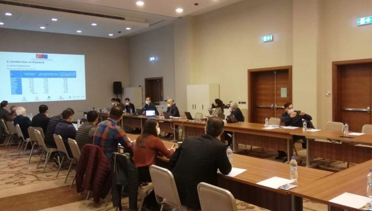 """Mardin'de """"Sürdürülebilir Şehirler"""" projesinin çalıştayı yapıldı"""