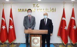 AB Türkiye Delegasyonu Başkanı Meyer-Landrut'tan Mardin Valisi Demirtaş'a ziyaret