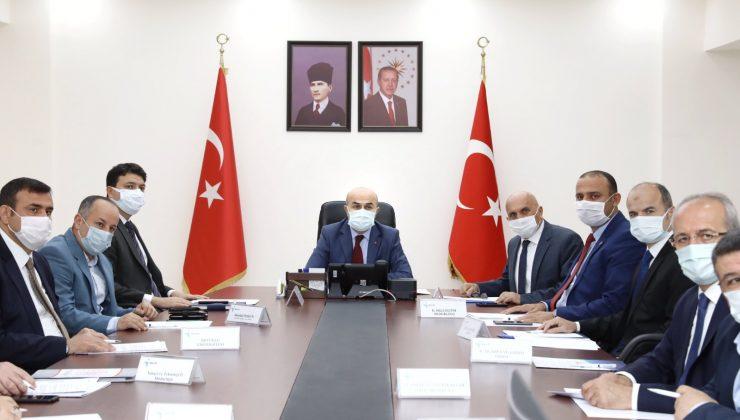 """Mardin'de """"İl İstihdam ve Mesleki Eğitim Kurulu"""" toplantısı yapıldı"""