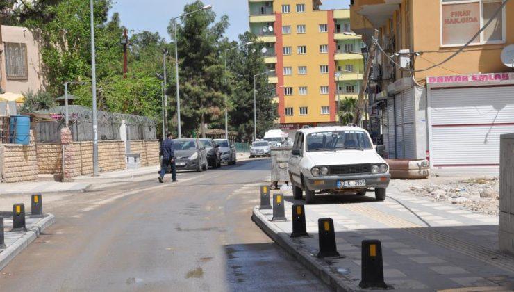 Kızıltepe'de cadde ve sokaklar sessizliğe büründü