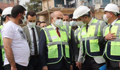 Vali Demirtaş, içme suyu ve altyapı çalışmalarını yerinde inceledi