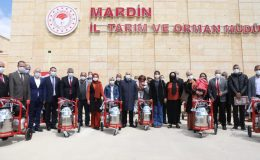 Mardinli besicilere süt sağım makinesi desteği