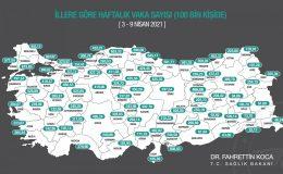 Mardin'de Koronavirüs Vakalarında Yükseliş Sürüyor