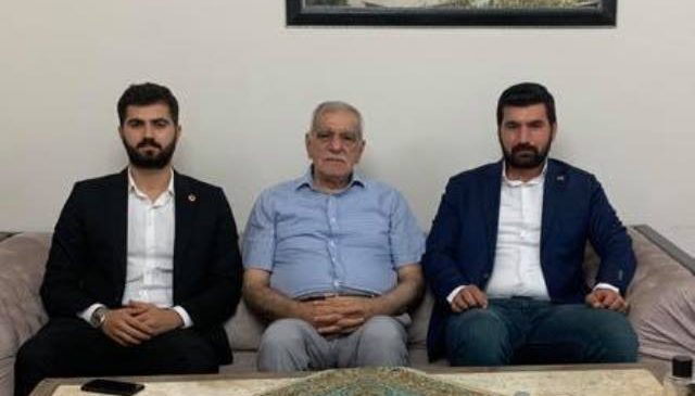 Saadet Partisi'nden Türk'e ziyaret