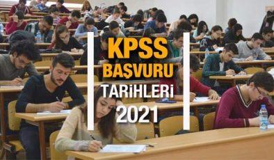 2021 KPSS başvuru tarihleri! Memur adayları için ÖSYM sınav ve başvuru takvimini duyurdu!