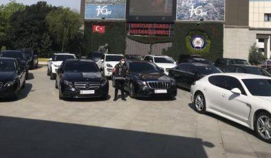 Lüks otomobil kaçakçılığında 24 araç ele geçirildi, 27 milyonluk zarar