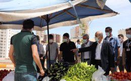 Mardin Valisi Demirtaş, pazar yerlerinde incelemelerde bulundu
