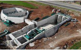 Mardin ana kanal ve cazibe sulama inşaatı devam ediyor