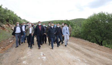 Mardin Valisi Demirtaş, altyapı ve üstyapı çalışmalarını inceledi