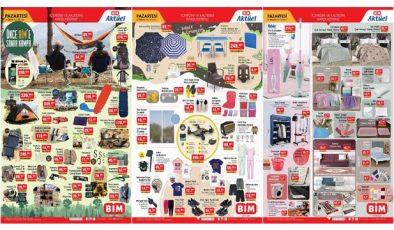 BİM 31 Mayıs aktüel kataloğu! Elektronik, tekstil, kamp ve bahçe ürünlerinde…