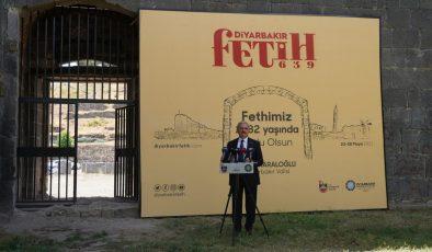 Diyarbakır'ın Fethi çeşitli etkinliklerle kutlanacak