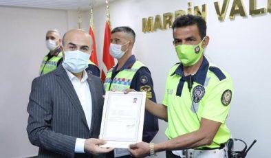 Mardin'de başarılı trafikçiler ödüllendirildi