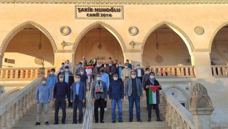 Mardin'de vatandaşlar Mescid-i Aksa için duada buluştu