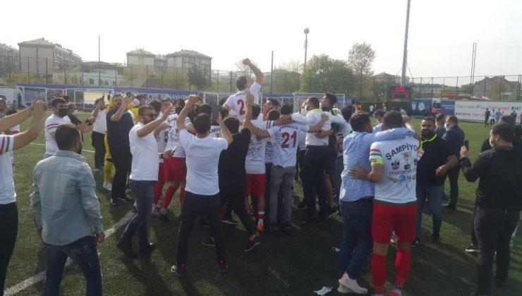 Diyarbekirspor 8 yıllık şampiyonluk özlemine son verdi