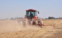 Mardin'de ikinci ürün olan mısır ekimi elektrik tedirginliğinde başladı