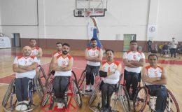 Kızıltepe engelli basketbol takımı ikinci galibiyetini aldı