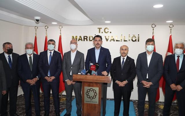 Bakan Kurum: Mardin'imize tam 50 milyar liralık yatırım kazandırdık