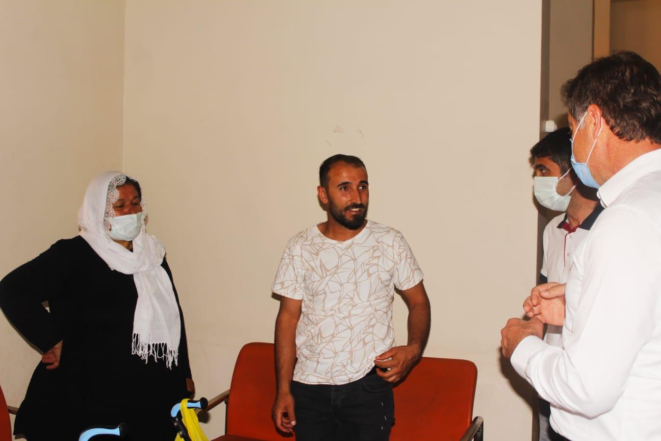 Milletvekili Demirkaya'dan Kızıltepe Devlet Hastanesine Bayram Ziyareti