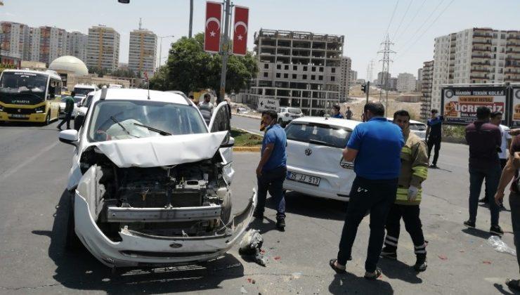 Mardin'de zincirleme kaza: 1 yaralı