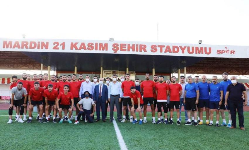 Mardin1969 Spor yeni sezon hazırlıklarına başladı
