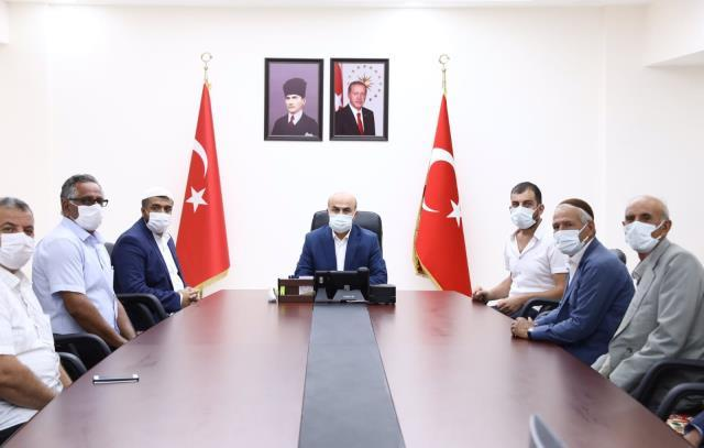 Mardin Valisi Demirtaş, muhtarlarla bir araya geldi