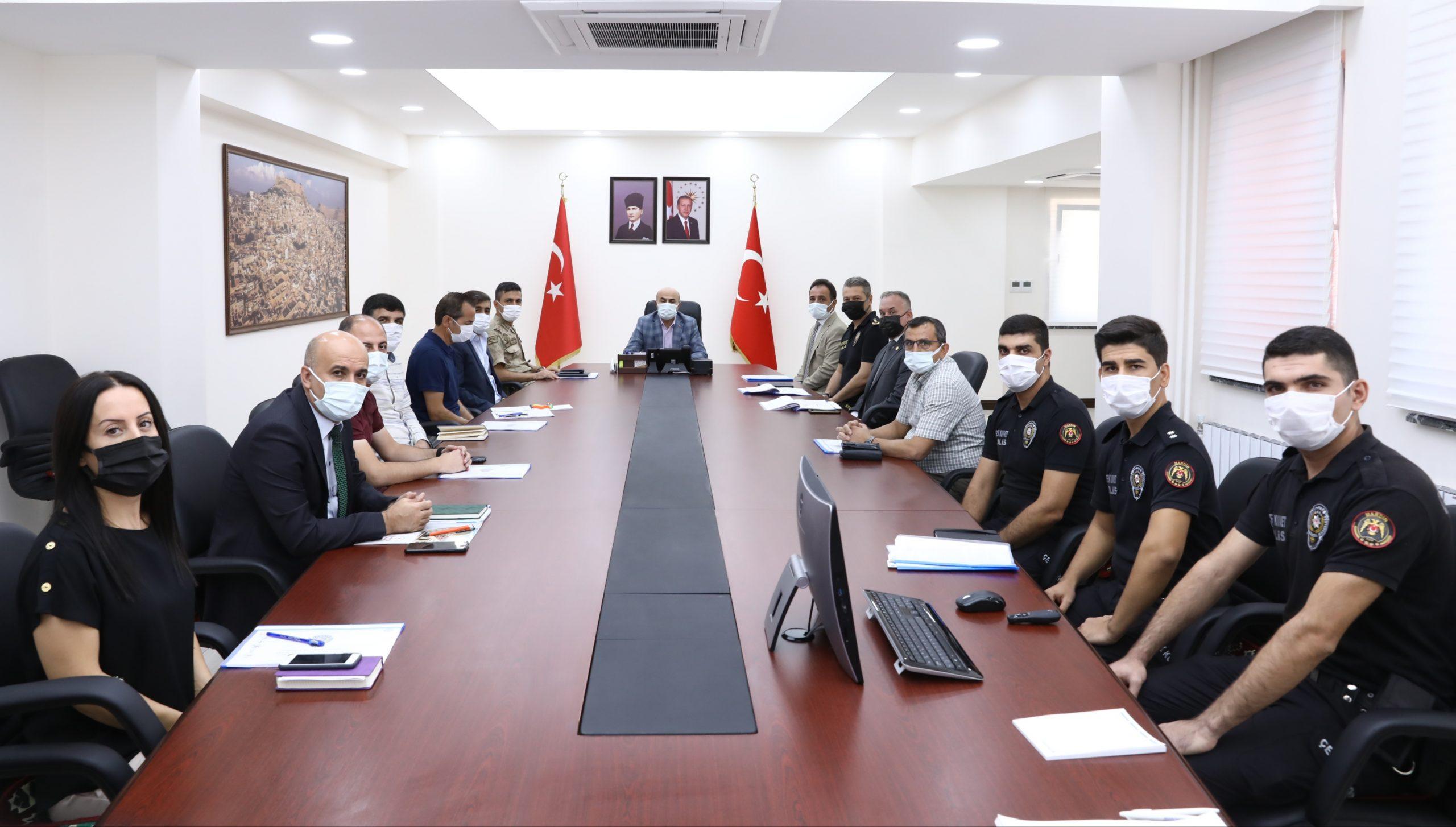 Mardin'de il spor güvenlik kurulu toplantısı yapıldı