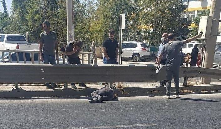 Kızıltepe'de caddeden karşıya geçmek isteyen gence tır çarptı