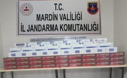 Otobüste kaçak 4 bin 360 paket sigara ve 160 şişe içki ele geçirildi