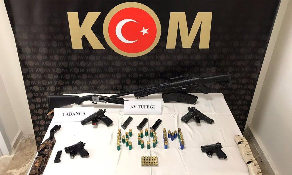 Mardin Polisinden 3 İlçede Kaçak Silah Operasyonu: 7 Tutuklama