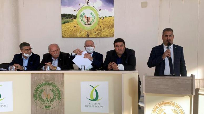 Kızıltepe'de Mısır fiyatları ve nem ölçümü ele alındı