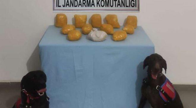 Mardin'de bahçeye gömülü 12 kilo sentetik uyuşturucu ele geçirildi